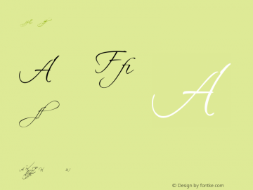 Scriptina - Alternates Regular 2.0 Font Sample