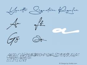 Yonitta Signature Version 002.000图片样张