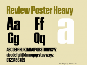 Review Poster Heavy Version 1.001 2020 | wf-rip DC20201005图片样张