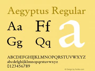 Aegyptus Version 13.00图片样张