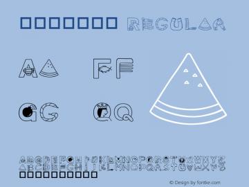 華康可愛英文篇 Regular 01 Feb, 1996: version 1.00 Font Sample