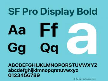 Apple Font W7 Version 15.0d4e20图片样张