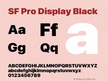 Apple Font W9 Version 15.0d4e20图片样张