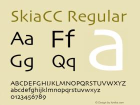 SkiaCC W05 Regular Version 3.50图片样张