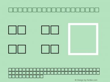 MD_Style_04 Regular Glyph Systems 20-jun-95图片样张