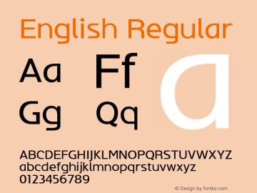 English W05 Regular Version 4.10图片样张