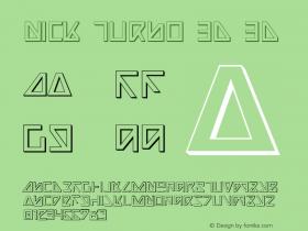 Nick Turbo 3D 3D 1图片样张