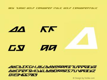 Nick Turbo Bold Expanded Italic Bold ExpandedItalic 1图片样张