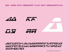 Nick Turbo Bold Expanded ItLas Bold ExpandedItLas 1图片样张
