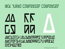 Nick Turbo Condensed Condensed 1图片样张