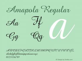 Amapola Regular 001.000图片样张