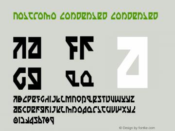 Nostromo Condensed Condensed 1图片样张