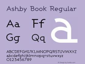 Ashby Book Regular 1.0图片样张