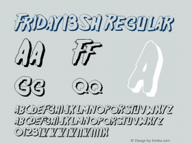 Friday13SH Regular 1.3图片样张