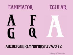 Reanimator DEMO Regular OTF 1.000;PS 001.000;Core 1.0.29图片样张