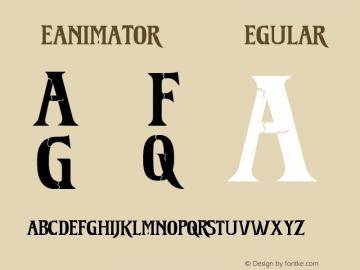Reanimator DEMO Regular 1.0  DEMO Font Sample