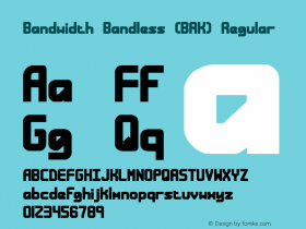 Bandwidth Bandless (BRK) Regular Version 2.16图片样张
