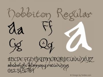 Hobbiton Regular 001.000图片样张