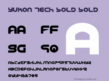 Yukon Tech Bold Bold 1图片样张