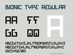Bionic Type Regular 1图片样张