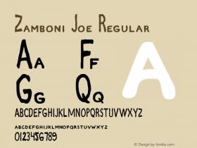 Zamboni Joe Regular 1图片样张
