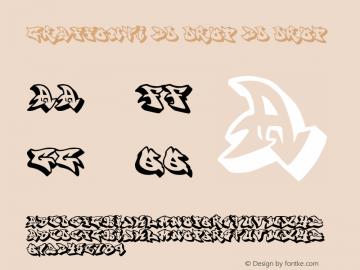 graffonti.3d.drop 3d.drop v2.7 (( xero harrison / http://fontvir.us )) Font Sample