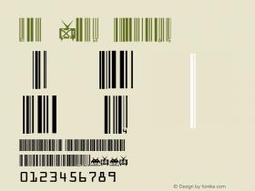 code xero Regular v4 (( © 2K-MMVII . xero harrison + fontvir.us ))图片样张