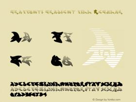 graffonti.gradient.fill Regular Version 2.301;PS 001.001;hotconv 1.0.38图片样张