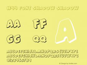 #44 Font Shadow Shadow 001.000图片样张