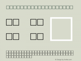 MD_Jadid_07 Regular Glyph Systems 10-jun-95 Font Sample
