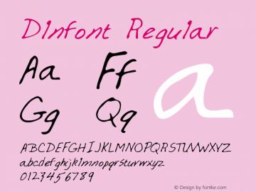 Dlnfont Regular Altsys Metamorphosis:3/3/95 Font Sample