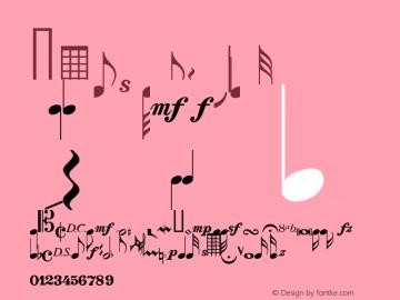 Notes Regular Macromedia Fontographer 4.1 2/17/98 Font Sample