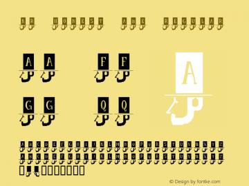 KR Honest Abe Regular Macromedia Fontographer 4.1 1/2/02 Font Sample