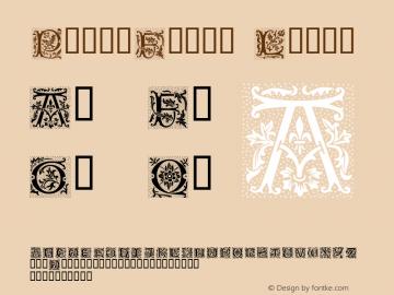 PetitFleur Light Macromedia Fontographer 4.1 08.01.02 Font Sample