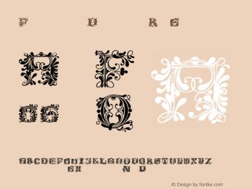 FlowerPower Regular 1.0 Font Sample