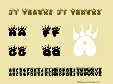 JI Tracks JI Tracks 001.001 Font Sample
