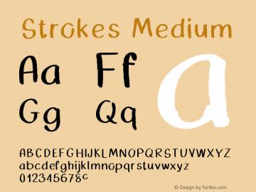 Strokes Version 001.000图片样张