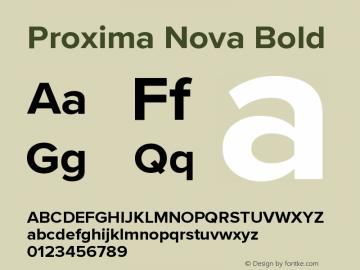 ProximaNova-Bold Version 3.005;com.myfonts.easy.marksimonson.proxima-nova.bold.wfkit2.version.4Emf图片样张