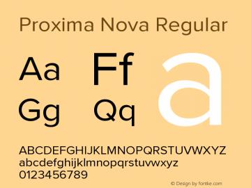 ProximaNova-Regular Version 3.005;com.myfonts.easy.marksimonson.proxima-nova.regular.wfkit2.version.4Eoq图片样张