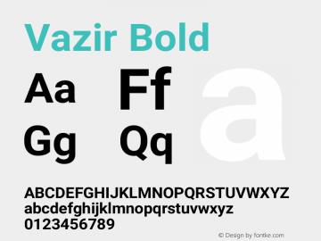 Vazir Bold Version 26.0.2图片样张