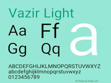 Vazir Light Version 26.0.2图片样张