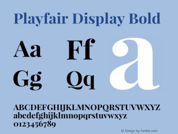 Playfair Display Bold Version 1.002;PS 001.002;hotconv 1.0.70;makeotf.lib2.5.58329; ttfautohint (v0.93) -l 42 -r 42 -G 200 -x 14 -w