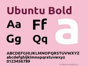 Ubuntu Bold 0.83图片样张