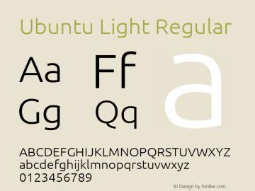 Ubuntu Light 0.83图片样张