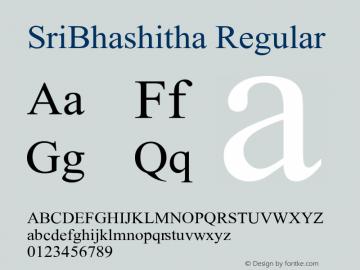 SriBhashitha Version 1.5图片样张