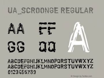 UA_Scroonge Version 1.00 January 14, 2016, initial release图片样张
