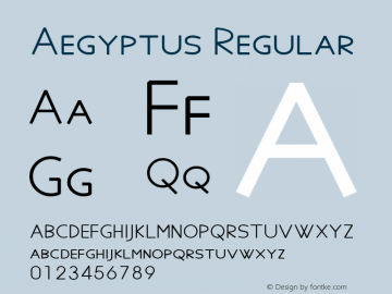 Aegyptus Version 6.17图片样张