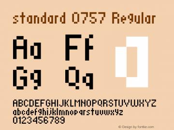 standard 0757 Macromedia Fontographer 4.1.4 8/9/01图片样张