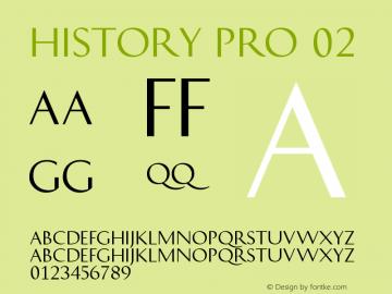 HistoryPro-Two Version 1.0; 2013图片样张