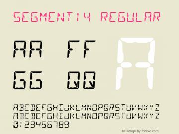Segment14 Version 1.002图片样张